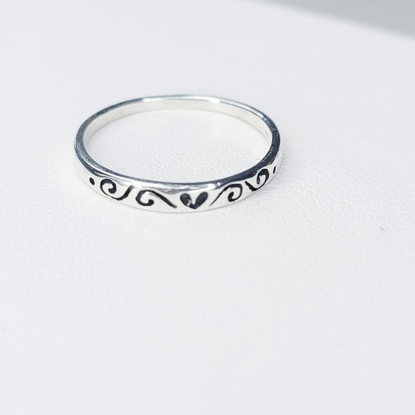 One love Stamping Ring