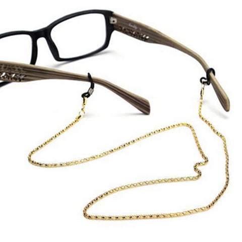 Holder Neck Cord - Metal Strap Chains - Sunglasses