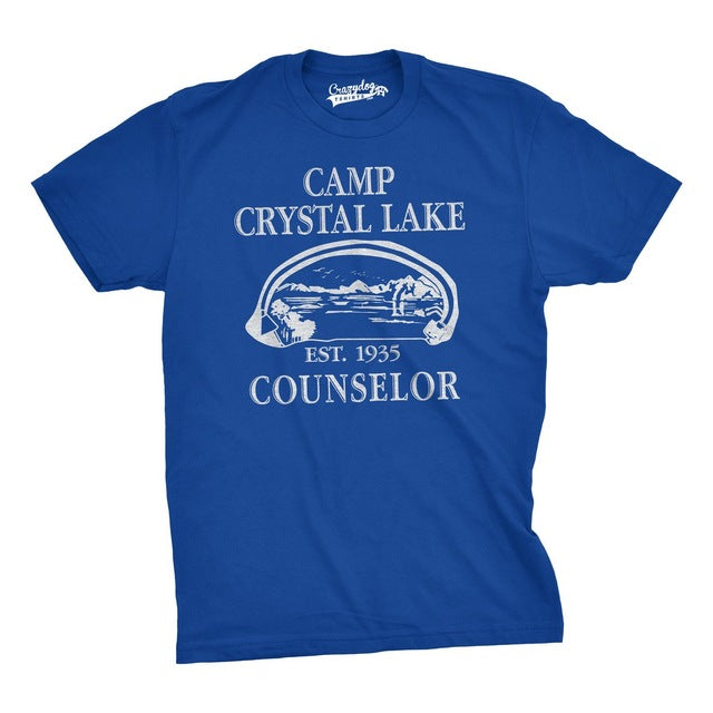 Vintage Novelty Men Camp Shirt