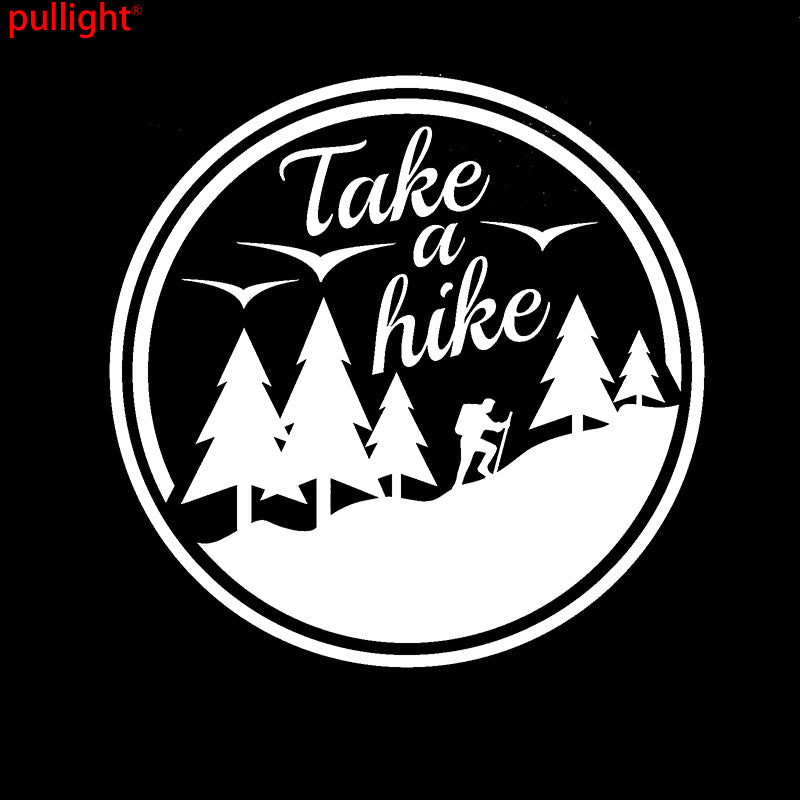 Take A Hike Camping Adventure Decal