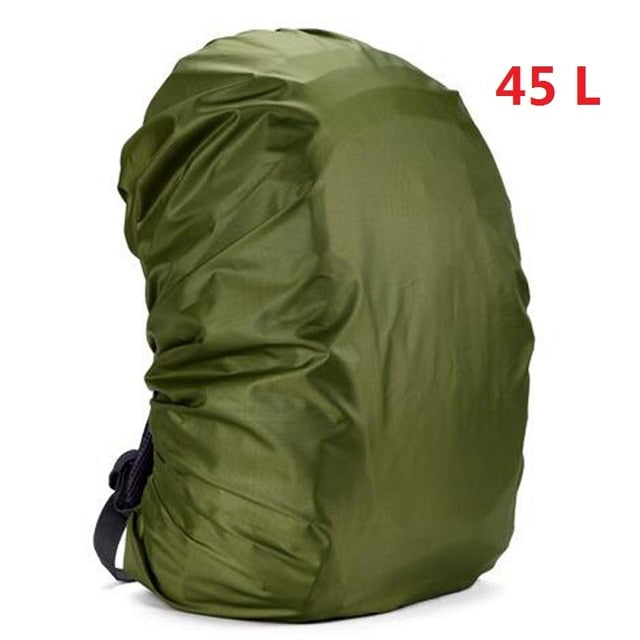 Waterproof Dustproof Adjustable Backpack Rain Cover