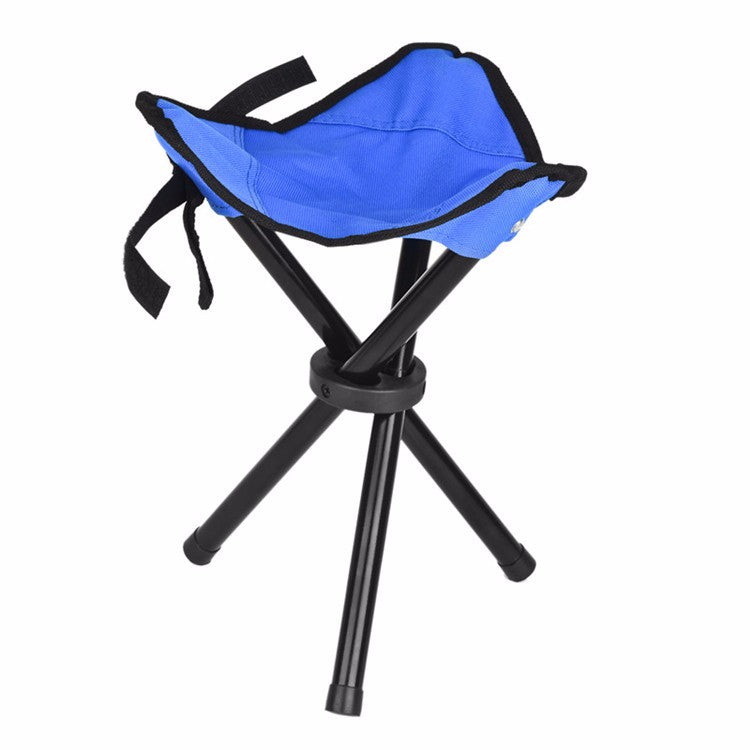 Foldable Stool Tripod Chair
