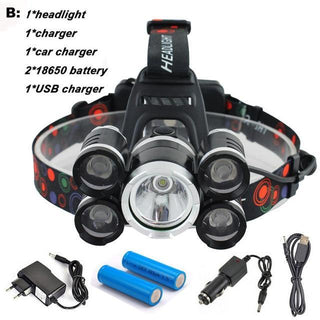 SUPER Bright LED Headlamp 40000 Lumens