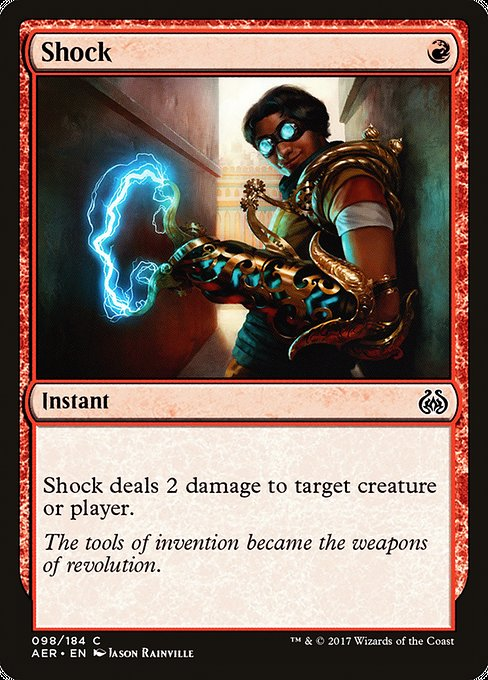 Shock [Aether Revolt] | Cascade Games | New Zealand