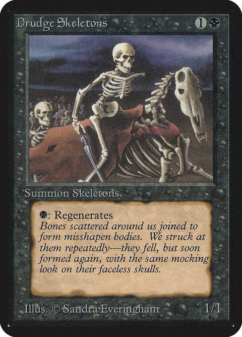 Drudge Skeletons [Limited Edition Alpha] - Evolution TCG | Evolution TCG