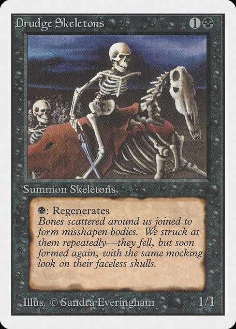 Drudge Skeletons [Unlimited Edition] - Evolution TCG | Evolution TCG