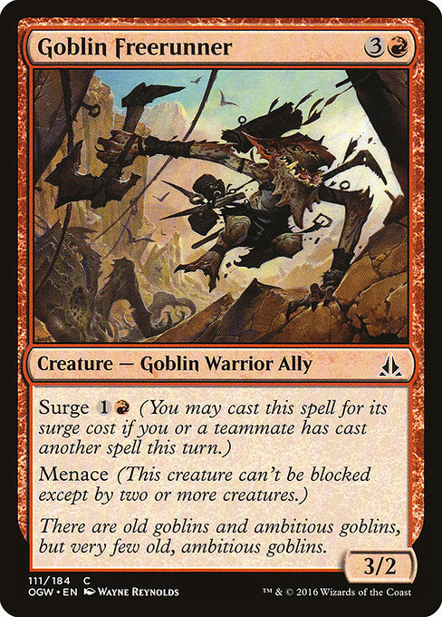 Goblin Freerunner [Oath of the Gatewatch] - Evolution TCG | Evolution TCG