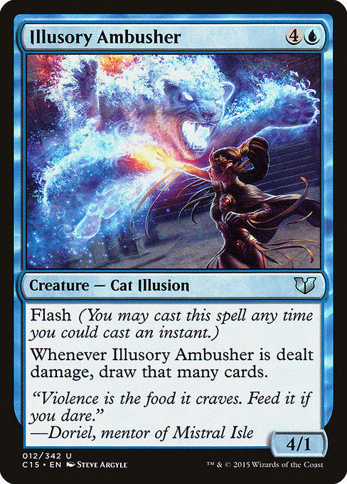 Illusory Ambusher [Commander 2015] - Evolution TCG | Evolution TCG