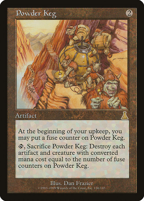 Powder Keg [Urza's Destiny] - Evolution TCG | Evolution TCG