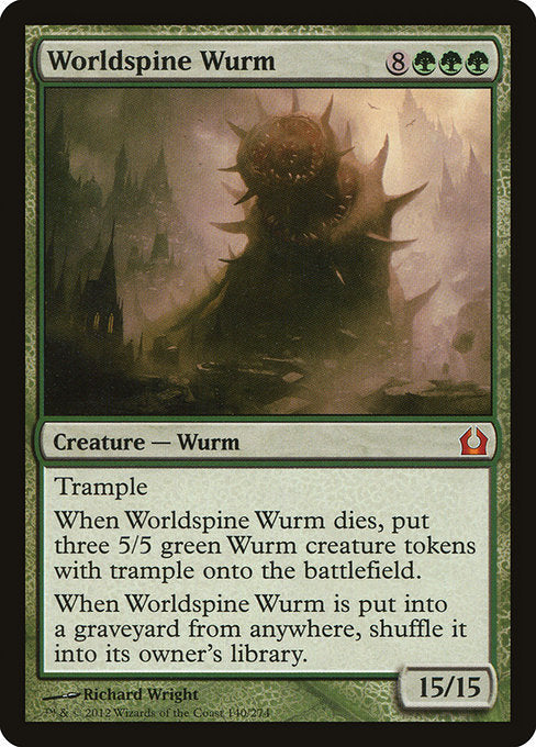 Worldspine Wurm [Return to Ravnica] - Evolution TCG | Evolution TCG