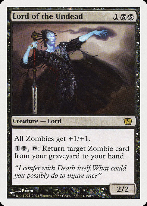 Lord of the Undead [Eighth Edition] - Evolution TCG | Evolution TCG