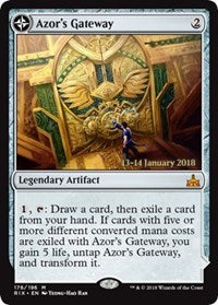 Azor's Gateway // Sanctum of the Sun [Rivals of Ixalan Promos] - Evolution TCG | Evolution TCG