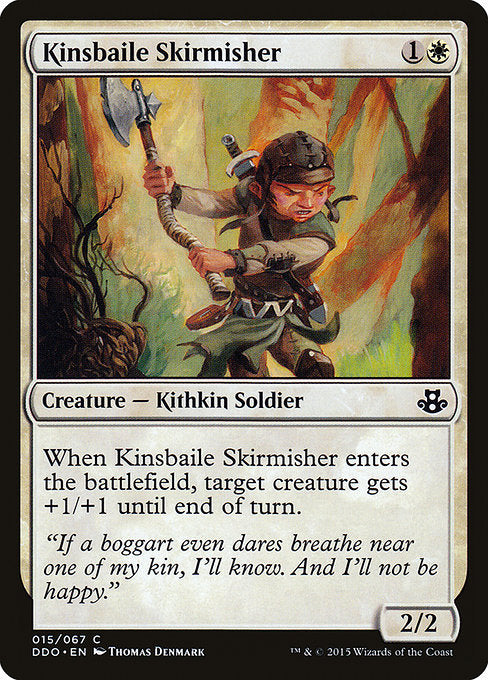 Kinsbaile Skirmisher [Duel Decks: Elspeth vs. Kiora] - Evolution TCG | Evolution TCG