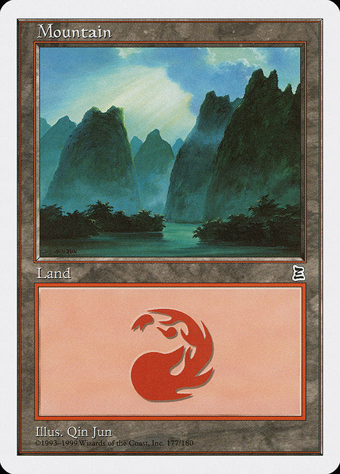 Mountain [Portal Three Kingdoms] - Evolution TCG | Evolution TCG