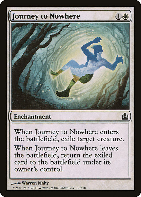 Journey to Nowhere [Commander 2011] - Evolution TCG | Evolution TCG