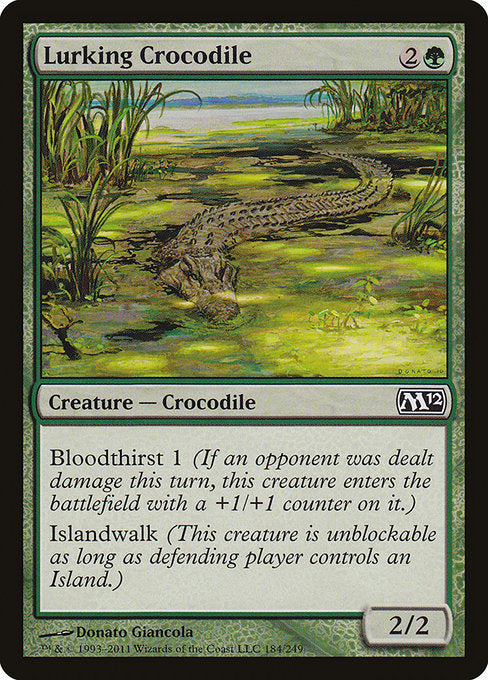 Lurking Crocodile [Magic 2012] - Evolution TCG | Evolution TCG