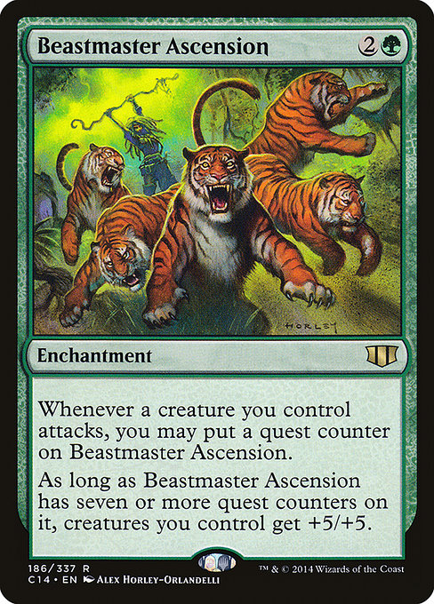 Beastmaster Ascension [Commander 2014] - Evolution TCG | Evolution TCG