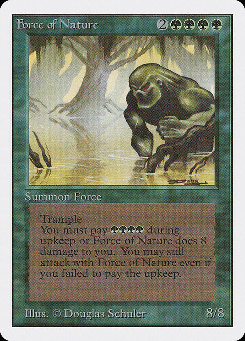 Force of Nature [Unlimited Edition] - Evolution TCG | Evolution TCG