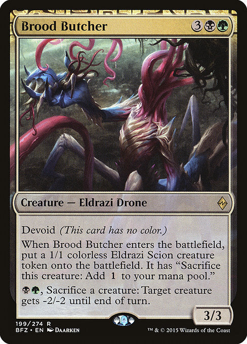Brood Butcher [Battle for Zendikar] - Evolution TCG | Evolution TCG