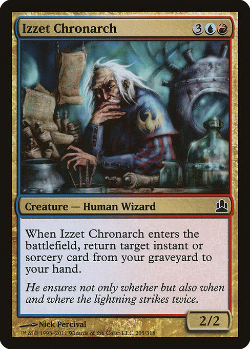 Izzet Chronarch [Commander 2011] - Evolution TCG | Evolution TCG