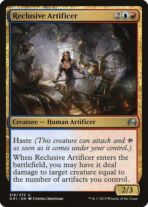 Reclusive Artificer [Magic Origins] - Evolution TCG | Evolution TCG
