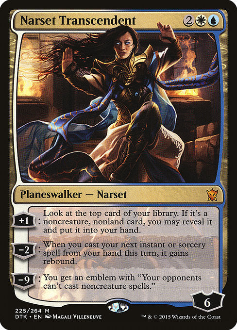 Narset Transcendent [Dragons of Tarkir] - Evolution TCG | Evolution TCG