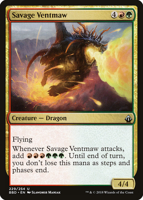 Savage Ventmaw [Battlebond] - Evolution TCG | Evolution TCG