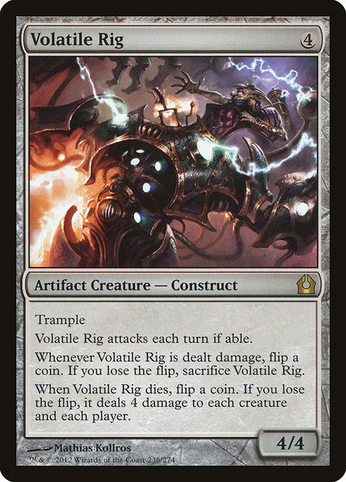Volatile Rig [Return to Ravnica] - Evolution TCG | Evolution TCG