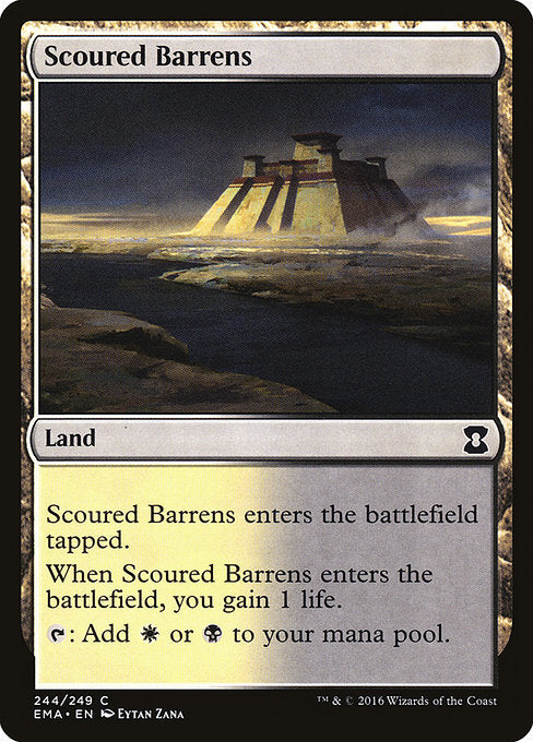 Scoured Barrens [Eternal Masters] - Evolution TCG | Evolution TCG