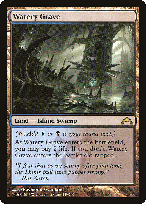 Watery Grave [Gatecrash] - Evolution TCG | Evolution TCG