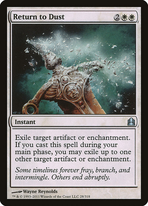 Return to Dust [Commander 2011] - Evolution TCG | Evolution TCG