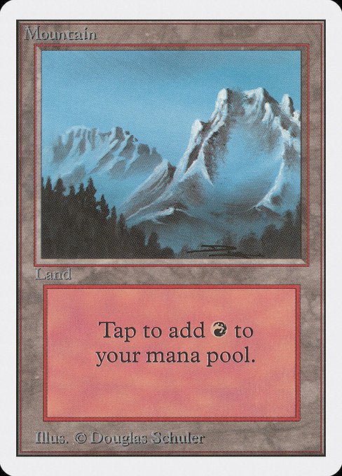 Mountain [Unlimited Edition] | Evolution TCG