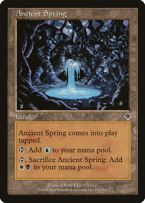 Ancient Spring [Invasion] - Evolution TCG | Evolution TCG