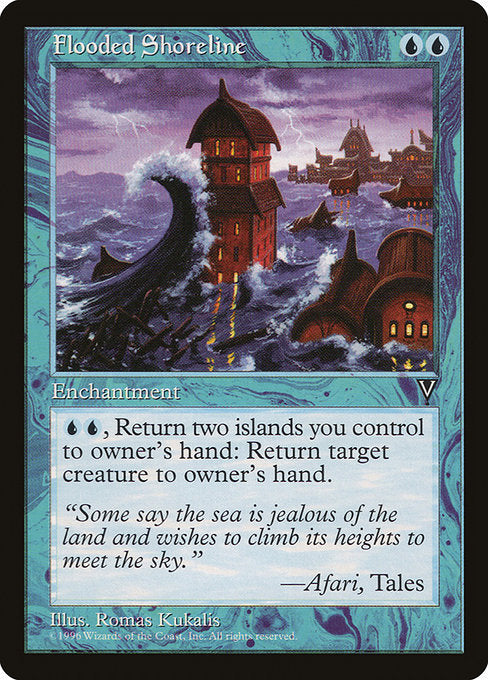 Flooded Shoreline [Visions] - Evolution TCG | Evolution TCG