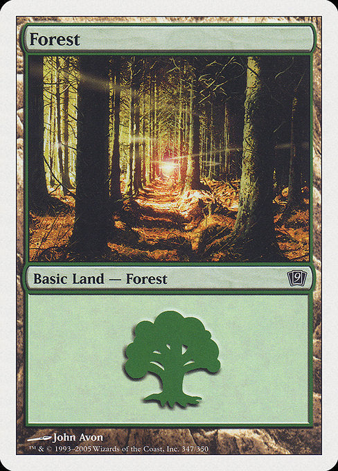 Forest [Ninth Edition] - Evolution TCG | Evolution TCG
