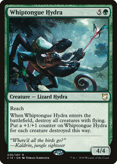 Whiptongue Hydra [Commander 2018] | Evolution TCG