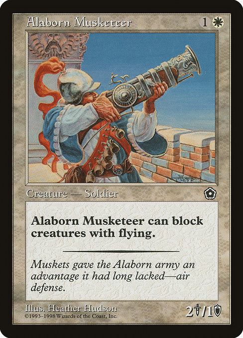Alaborn Musketeer [Portal Second Age] - Evolution TCG | Evolution TCG