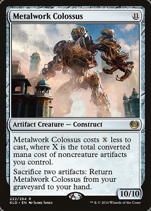 Metalwork Colossus [Kaladesh] - Evolution TCG | Evolution TCG