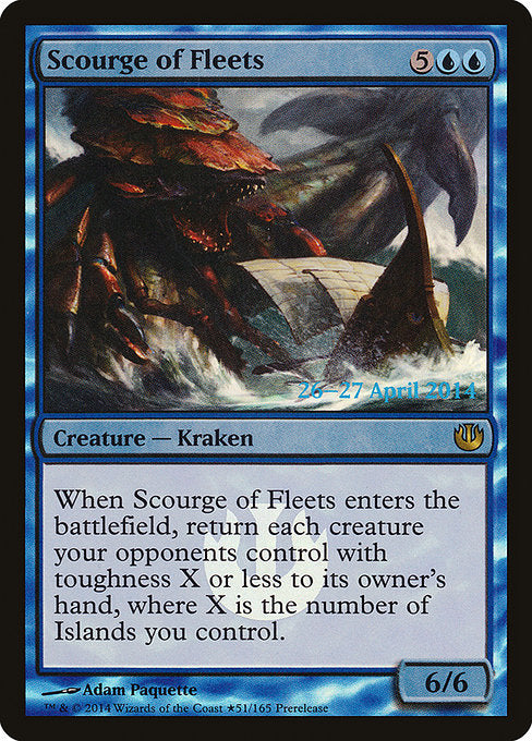 Scourge of Fleets [Journey into Nyx Promos] - Evolution TCG | Evolution TCG