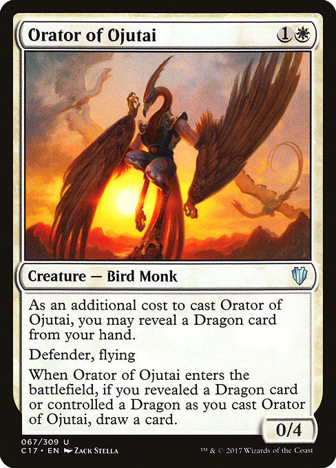Orator of Ojutai [Commander 2017] - Evolution TCG | Evolution TCG