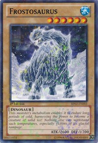 Frostosaurus [Battle Pack 2: War of the Giants] [BP02-EN003] - Evolution TCG | Evolution TCG