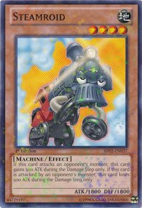 Steamroid [Battle Pack 2: War of the Giants] [BP02-EN037] - Evolution TCG | Evolution TCG