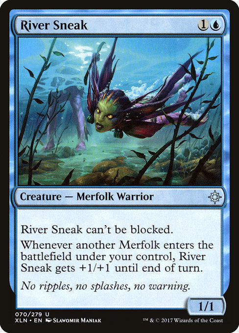 River Sneak [Ixalan] - Evolution TCG | Evolution TCG