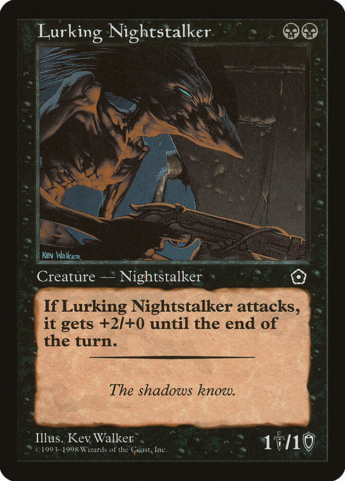 Lurking Nightstalker [Portal Second Age] | Evolution TCG