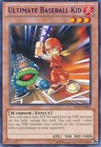 Ultimate Baseball Kid (Red) [Duelist League Promo] [DL15-EN003] - Evolution TCG | Evolution TCG