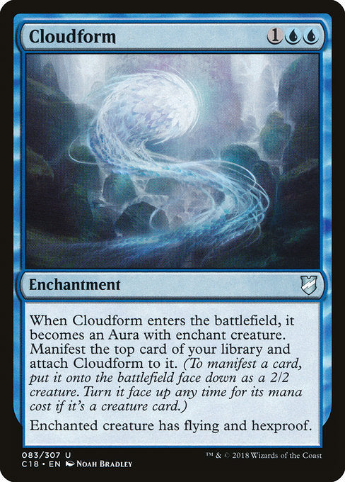 Cloudform [Commander 2018] | Evolution TCG