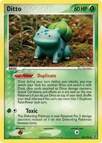 Ditto (Bulbasaur) [Delta Species] - Evolution TCG | Evolution TCG