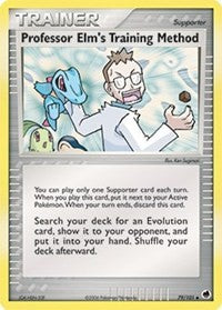 Professor Elm's Training Method [Dragon Frontiers] - Evolution TCG | Evolution TCG