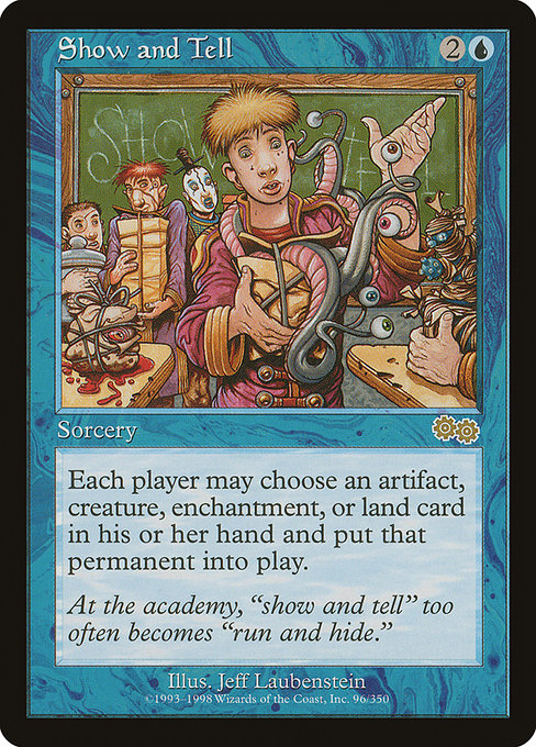 Show and Tell [Urza's Saga] - Evolution TCG | Evolution TCG