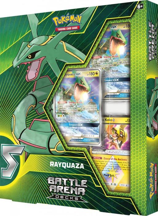 Battle Arena Decks - Ultra Rayquaza GX | Evolution TCG